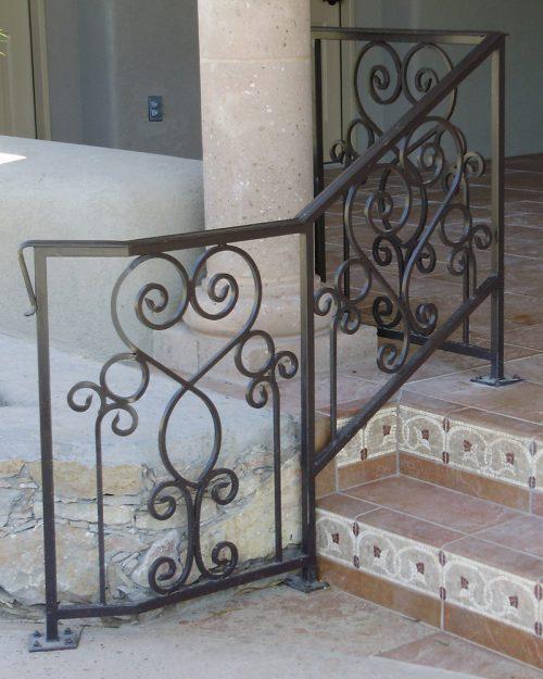 Hand, Balcony, Stair Rails